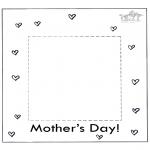 Tema - Moldura do dia da mãe