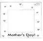 Moldura do dia da mãe