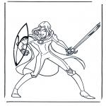 Personagens de banda desenhada - Narnia 8