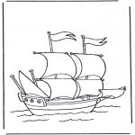 Todos os tipos de - Navio de navegação grande
