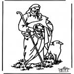 Pinturas bibel - O bom pastor 4