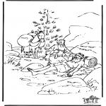 Pinturas bibel - O bom samaritano 6