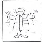 Pinturas bibel - O casaco de José