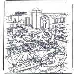 Pinturas bibel - O homem paralizado 2