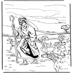 Pinturas bibel - O pastor