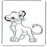 Personagens de banda desenhada - O Rei Leão 5