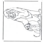 Personagens de banda desenhada - O Rei Leão 7