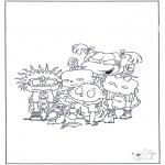 Personagens de banda desenhada - Os meninos de coro 3