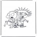 Personagens de banda desenhada - Os meninos de coro 4