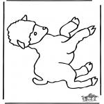 Animais - Ovelha feliz 1