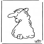 Animais - Ovelha feliz 2
