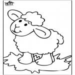Animais - Ovelha feliz 4