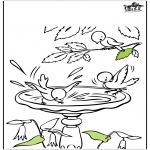 Todos os tipos de - Páginas de colorir - Primavera
