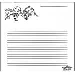 Ofícios - Papel de escrita K3