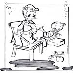 Personagens de banda desenhada - Pato Donald 2