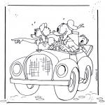 Personagens de banda desenhada - Pato Donald 4