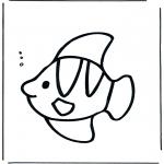 Animais - Peixe na água