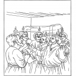 Pinturas bibel - Pentecostes 2