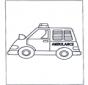 Pequena ambulância