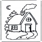 Crianças - Pequena casa de campo