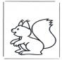 Pequeno esquilo