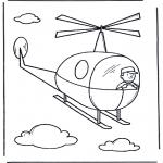 Crianças - Pequeno helicóptero