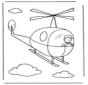 Pequeno helicóptero