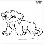 Animais - Pequeno leão