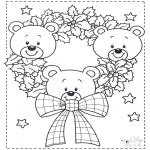 Natal - Pequenos ursos de Natal