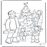 Natal - Pessoas na neve