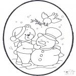 Inverno - Picotar de Cartão de Inverno 2