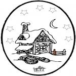 Inverno - Picotar de Cartão de Inverno 5