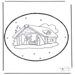 Natal - Picotar de Cartão de Natal 15