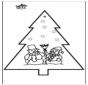 Picotar de Cartão de Natal 2