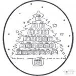 Natal - Picotar de Cartão de Natal 20