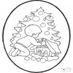Natal - Picotar de Cartão de Natal 22