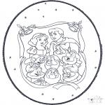 Natal - Picotar de Cartão de Natal 5