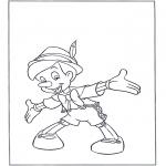 Personagens de banda desenhada - Pinóquio 1