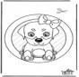 Pintura de Janela - Cão