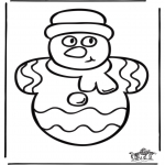 Natal - Pintura de Janela de Natal 1