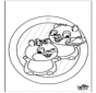 Pintura de Janela - Hamster 1