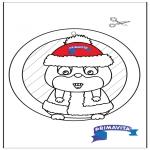 Ofícios - Pintura de Janela - Hamster 2