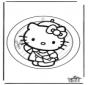 Pintura de Janela Kitty