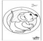 Pintura de Janela - rato