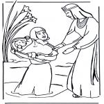 Pinturas bibel - Pintura de Moisés
