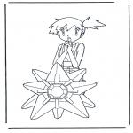Personagens de banda desenhada - Pokemon Misty