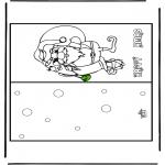 Natal - Postal Feliz Natal 16