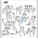 Todos os tipos de - Posturas de balé