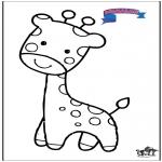 Animais - Primalac girafa