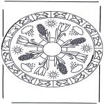 Pinturas Mandala - Primavera mandala